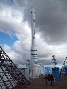 CONAE Tronador launch