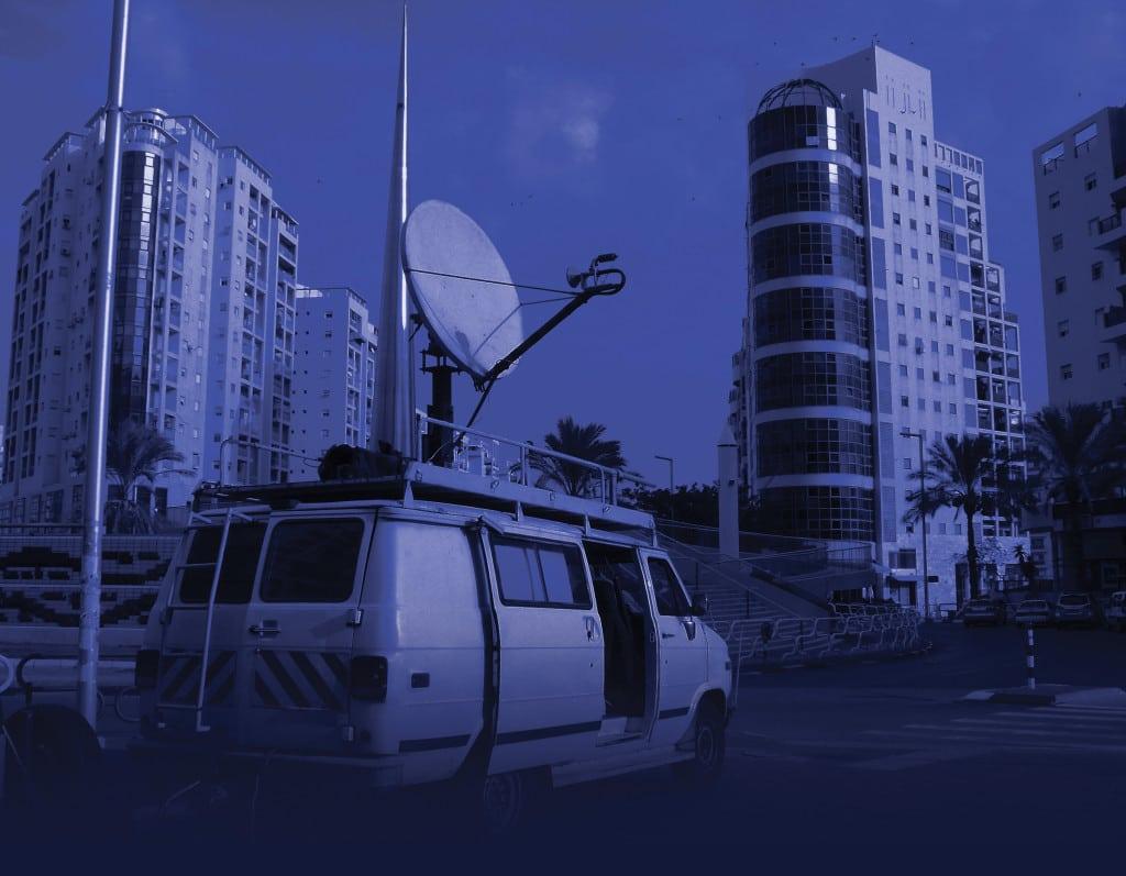 Satellite News Gathering Van