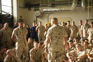 Marine Corps satcom