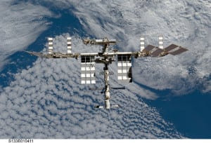 ISS NASA ESA