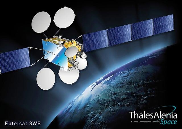 Eutelsat Nilesat Thales