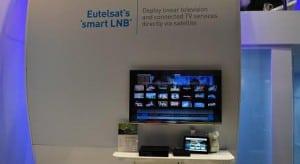 Eutelsat's smartLNB demo at IBC