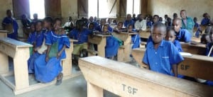 A group of students who receive help from Tanzania Support Foundation.