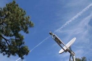 Hughes satellite dish