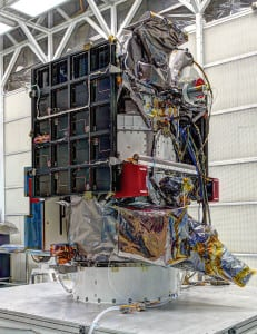 DSCOVR Solar Space Weather