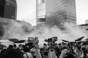 Hong Kong Umbrella Revolution protest