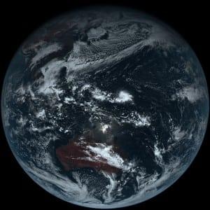 Himawari 8 Japan Earth