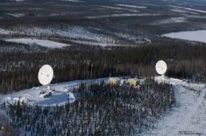 Inuvik Satellite Station Facility in Inuvik, Canada