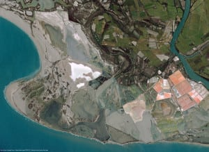 Pléiades Satellite Image - Salin-de-Giraud, France. Photo: CNES 2012, Distribution Airbus DS / Spot Image