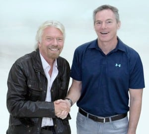 Virgin Group Founder Sir Richard Branson and Qualcomm Executive Chairman Paul Jacobs are the initial investors in the OneWeb constellation and are part of the board of directors. Photo: Virgin