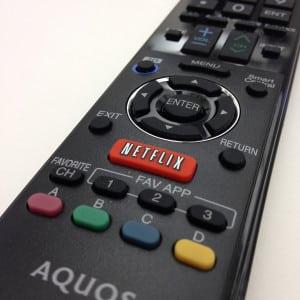 Netflix remote TV OTT