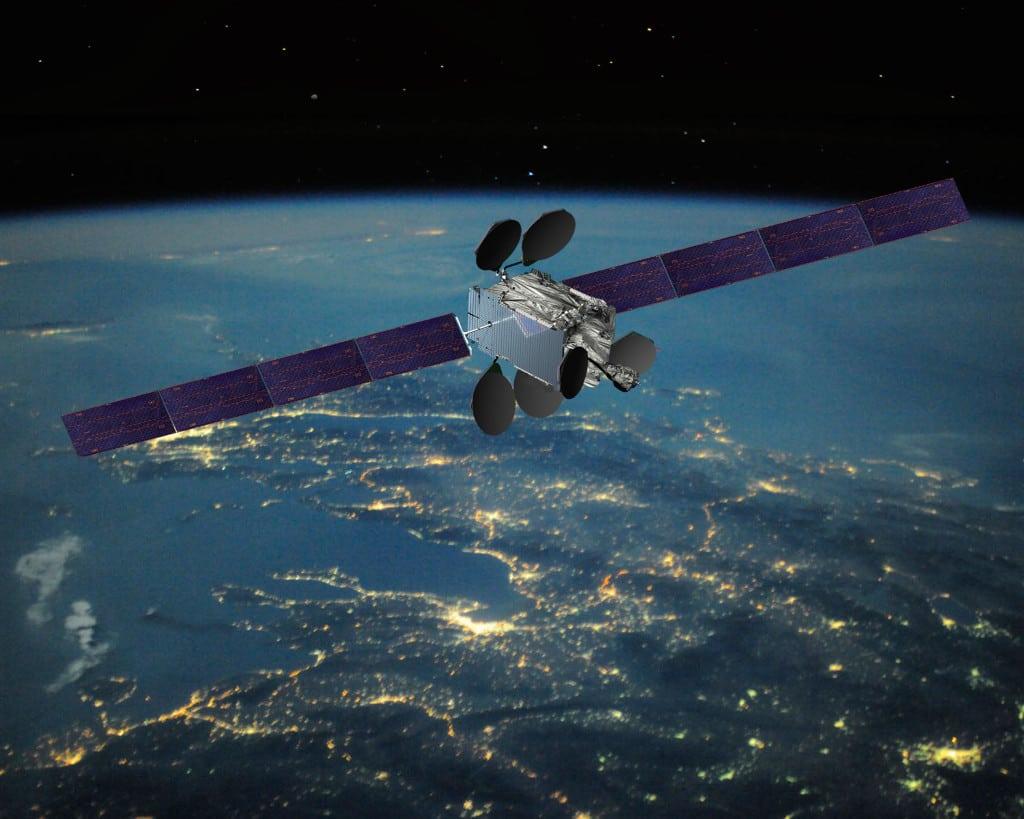 Intelsat EpicNG HTS satellite, rendering. Photo: Intelsat