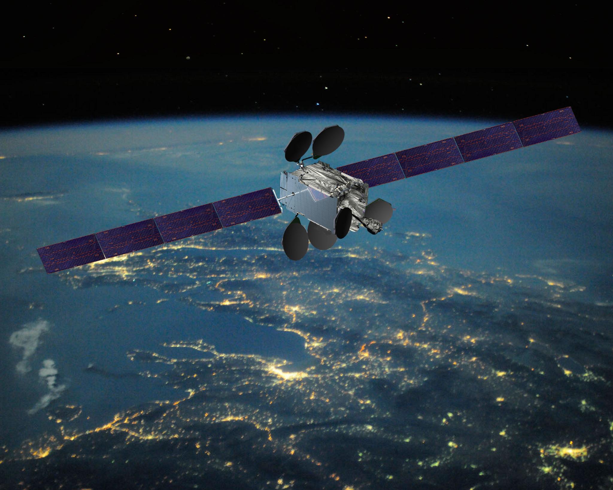 спутник в космосе фото еле