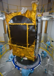 Arabsat 5C before launch