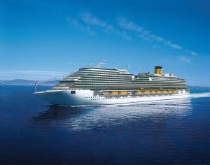 Costa Diadema ship in Carnival Cruise's fleet
