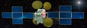 Russian Express AM5 satellite rendering