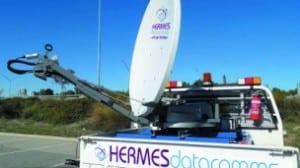A VSAT solution from Hermes Datacomms. Photo: Hermes Datacomms