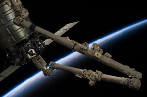 Canadarm2 Cygnus ISS