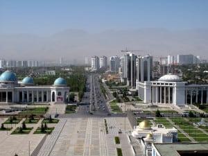 Ashgabat Turkmenistan Satellite