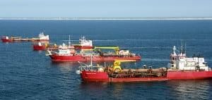 Dredge maritime VSAT