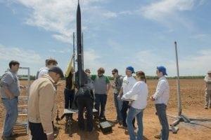 NASA Marshall Rocket