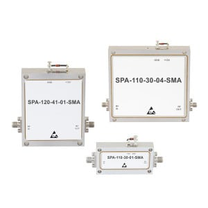 New X-Band GaAs PHEMT MMIC Based LNA and High Power Coaxial Amplifiers Released by Fairview Microwave. Photo: Fairview Microwave.