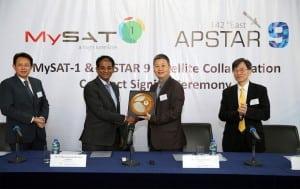 Apstar MySat-1 TSGN