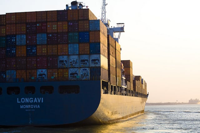 Ship Boat maritime stock