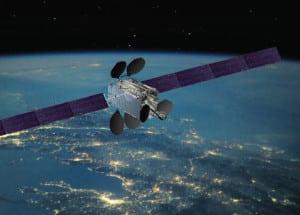Artist rendition of the Intelsat 33e satellite. Photo: Intelsat
