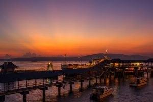 Ketapang harbour Indonesia