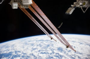Planet Labs satellites deploying from the ISS