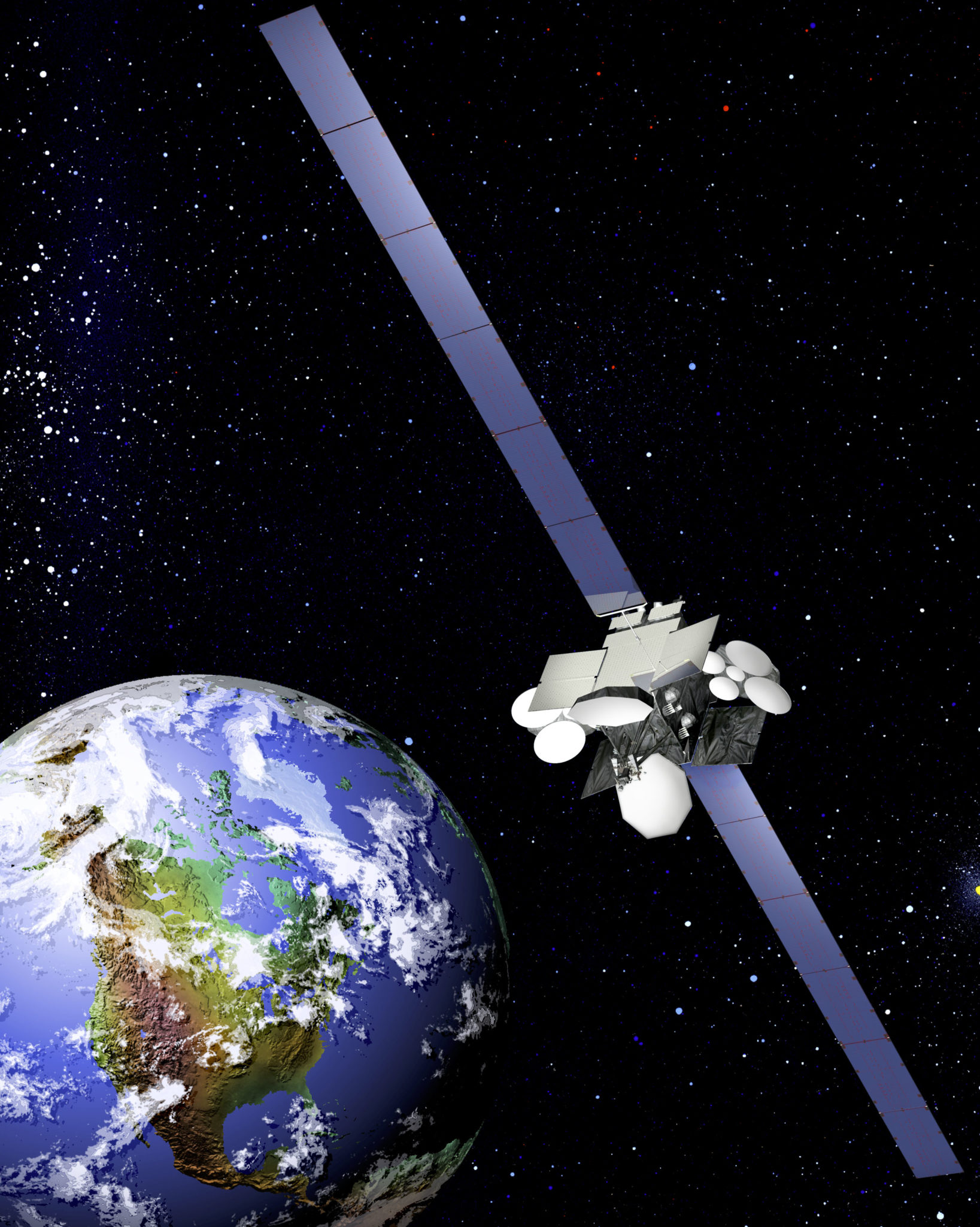 Climbing Throughput Needs Upholding Satellite Demand In Canadian - Today satellite image of world