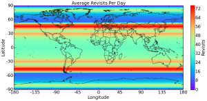 BlackSky Revisit Rate Heat Map