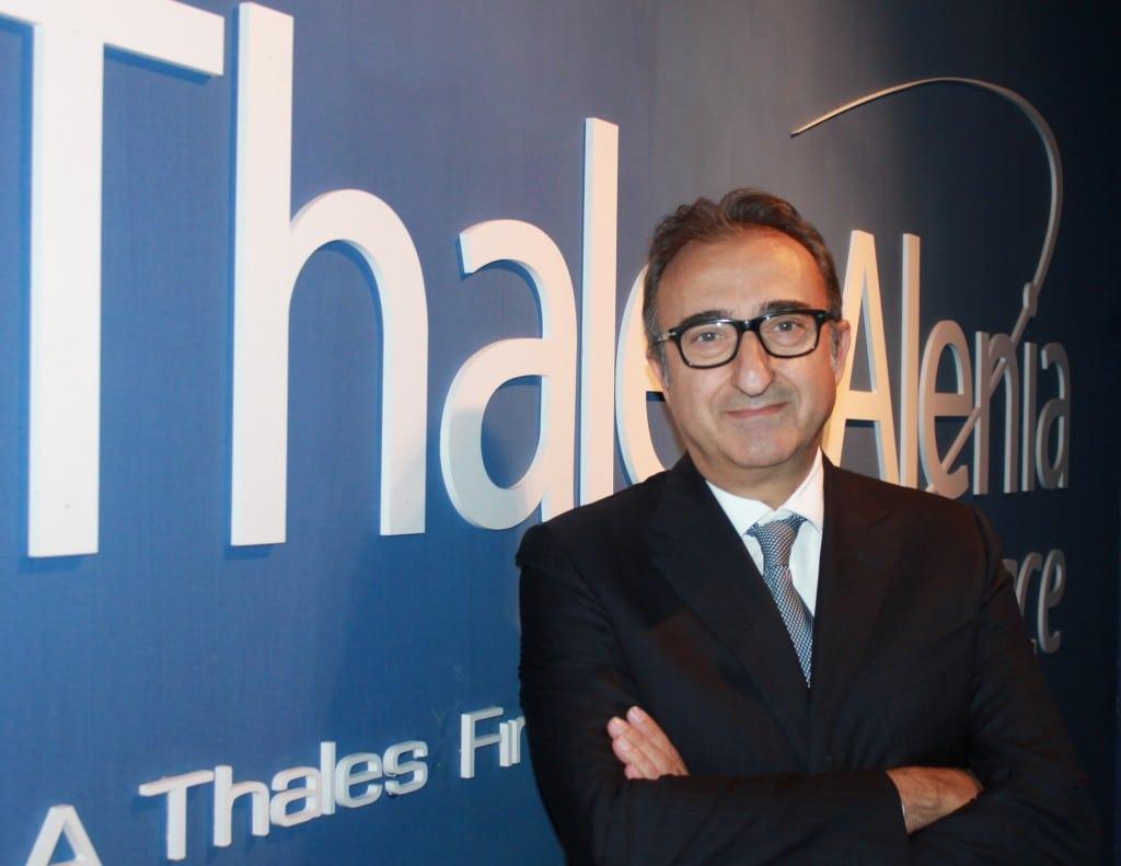 Thales Alenia Space CEO Donato Amoroso. Photo: Thales Alenia Space