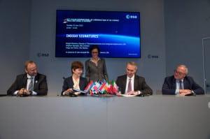 ESA and Intelsat sign Indigo public–private partnership