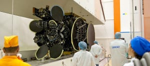 The Es'hail 1 satellite