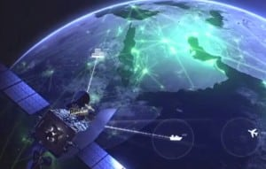 Inmarsat GX Maritime Aviation Network Diagram