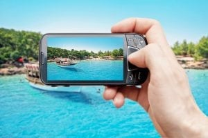 Mobile devices drive greater demand for cruise line connectivity. Photo: MTN