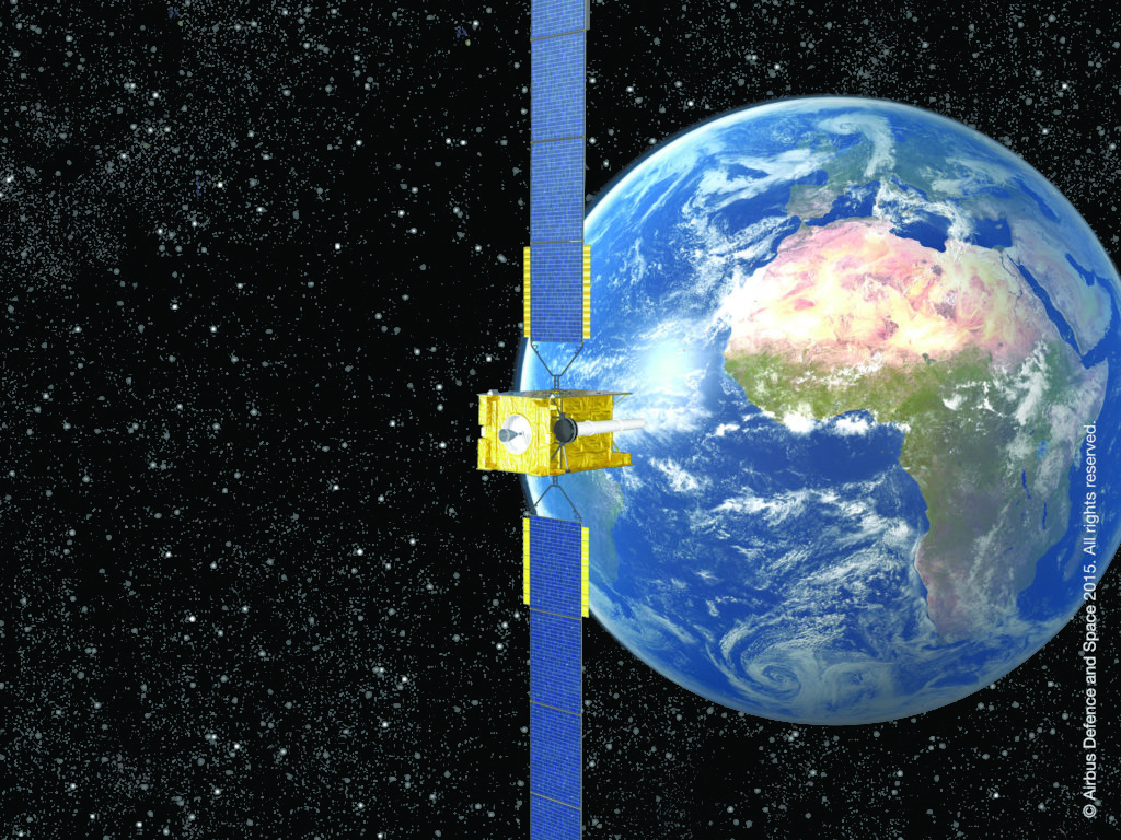 Norway MOD Contracts Skynet Satcom From Airbus Defence And Space - Today satellite image of world