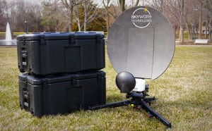 A VSAT capable of leveraging the Inmarsat-Gilat partnership. Photo: Inmarsat