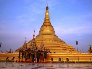 Naypyidaw, Naypyidaw Capital Region, Myanmar: Uppatasanti Pagoda.