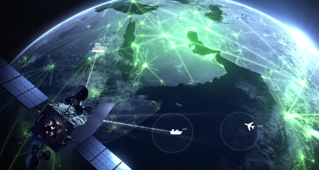 Inmarsat Global Xpress network, rendering