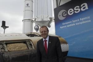 ESA Woerner director general
