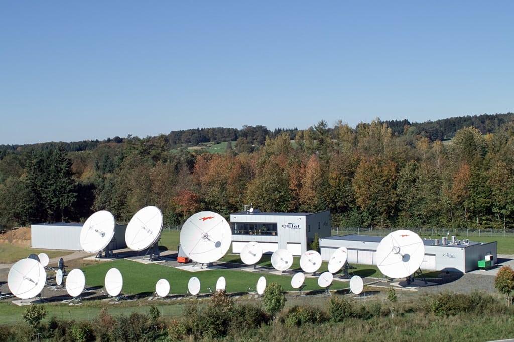 CETel Luftbild Teleport