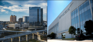 SpaceX Intelsat Buildings