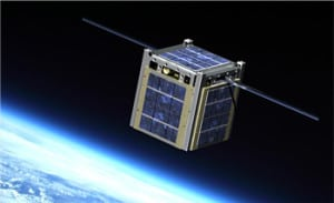 Artist's rendition of a CubeSat. Photo: NASA