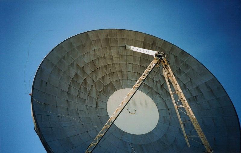 Goonhilly satellite station. Photo: Gemma Garner (Flickr)