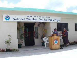 WSO Pago Pago headquarters.