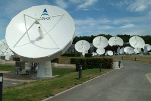 SES Astra Dish