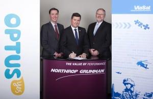 Northrop ViaSat Optus WGS ADF Australia